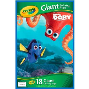 Disney Pixar Finding Dory Crayola Giant Colouring Pages